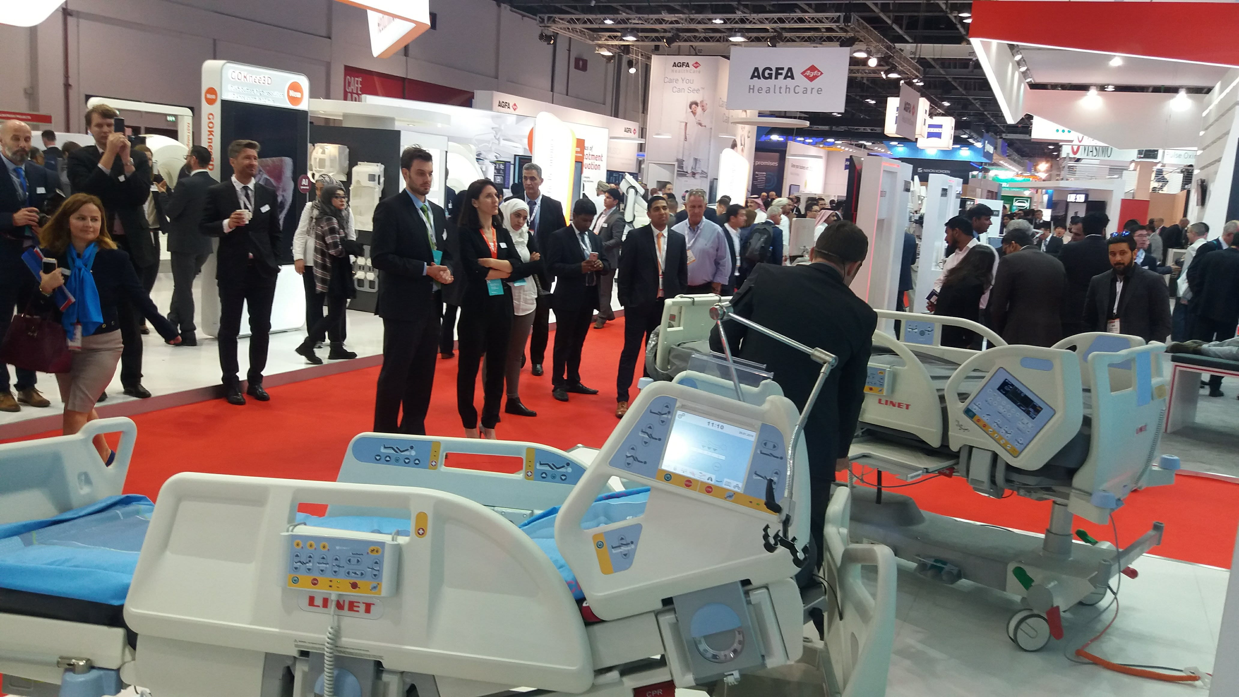 LINET at Arab Health 2018 360°care around you