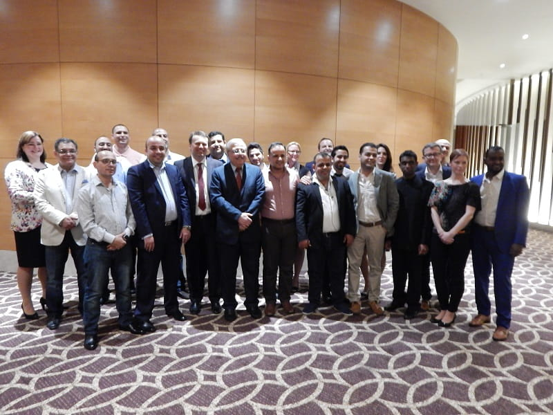 Annual meeting of regional distributors from the Middle East and Africa held in Dubai