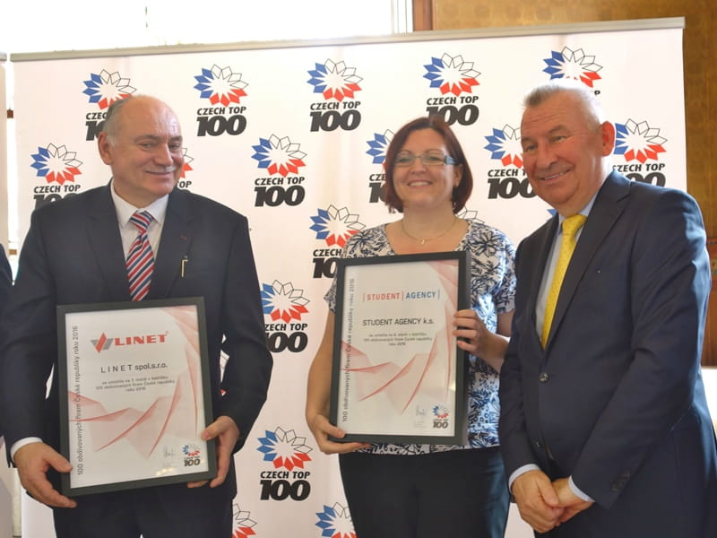 LINET among TOP 10 most admired Czech companies