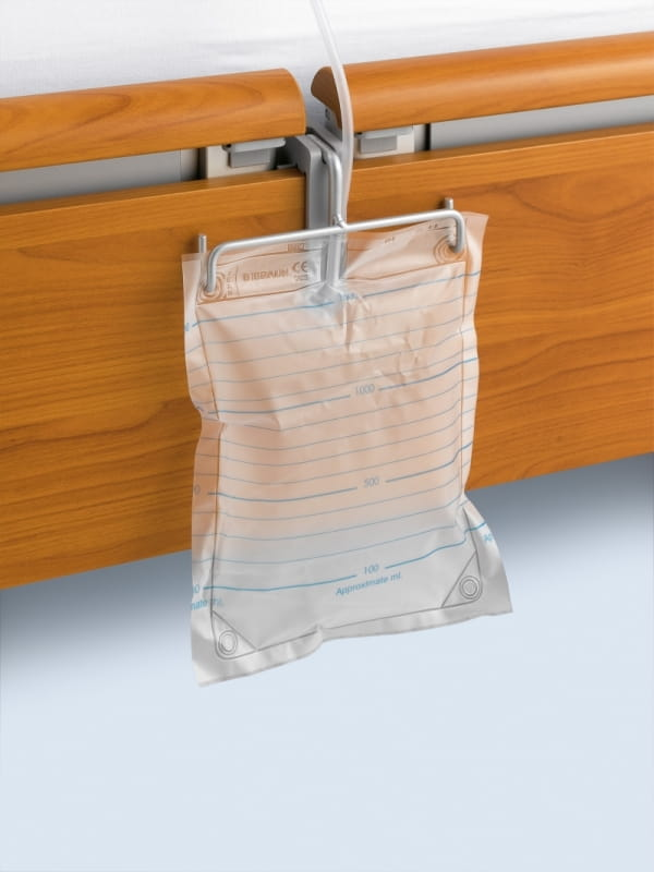 Urine sack holder