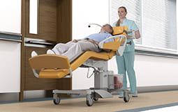 Multifuncional and dialysis chair PURA